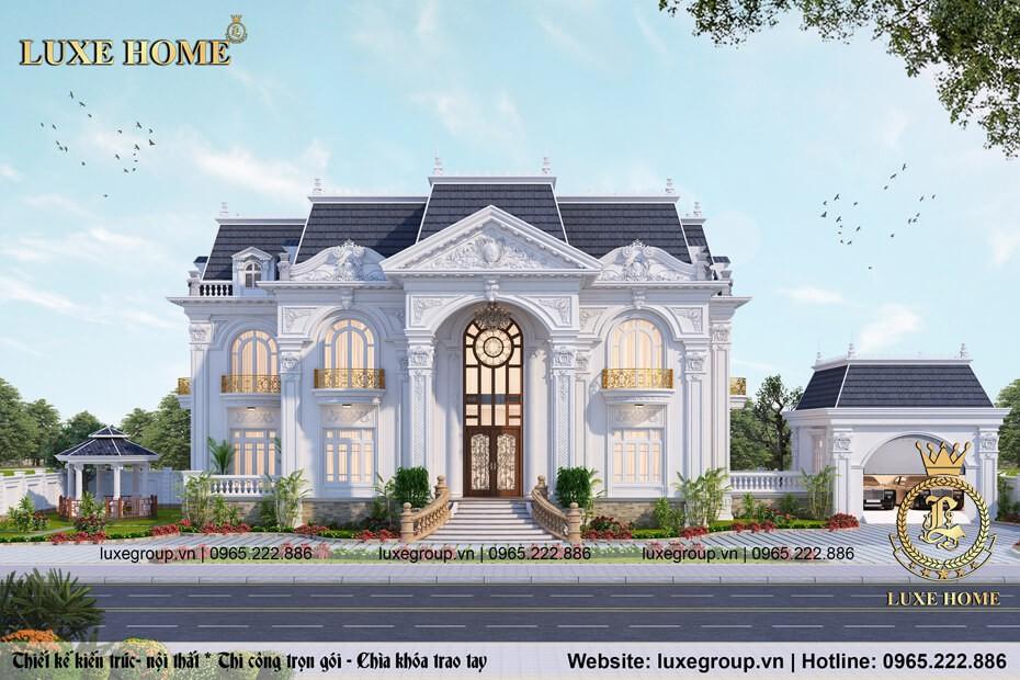 Dinh Thự Tân Cổ Điển Tại Quảng Ninh – Mã số: DT 2113