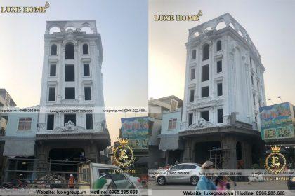 Tiến Độ Thi Công Nhà Ở Kết Hợp Văn Phòng – TC 6111 Luxe Home